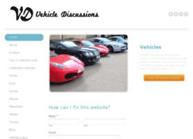 vehiclediscussions.com