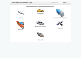 vehiclepartsdatabase.com