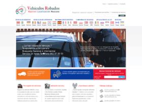 vehiculosrobados.org