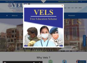 velsuniv.org