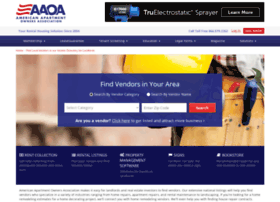 vendors.american-apartment-owners-association.org