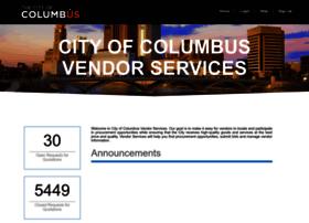 vendorservices.columbus.gov