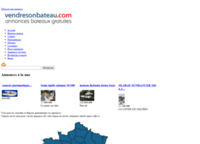 vendresonbateau.com