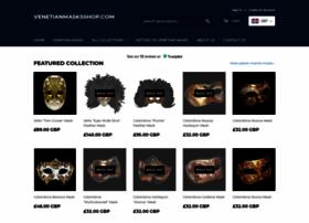 venetianmasksshop.com