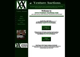venture-auctions.com