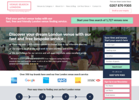 venuesearchlondon.com