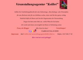 veranstaltungsagenturkolibri.de