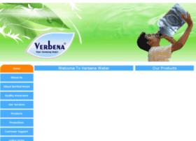 verbenawater.com