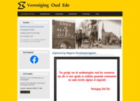 verenigingoudede.nl