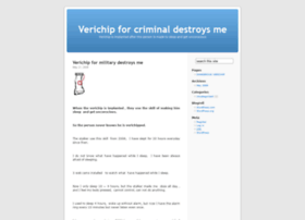 verichip4criminal.wordpress.com