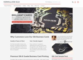 vermillionsilkcards.com