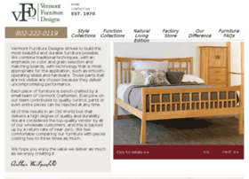 vermontfurnituredesigns.calls.net