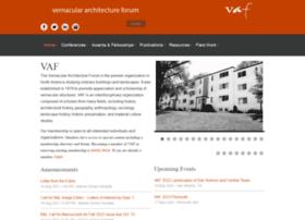 vernaculararchitectureforum.org