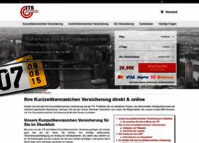 versicherung-kurzzeitkennzeichen.com