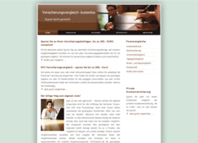 versicherungsvergleich-kostenlos.info