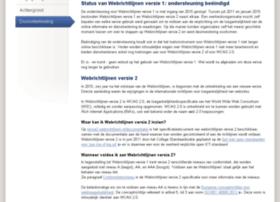 versie1.webrichtlijnen.nl