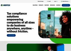 vertexinc.com