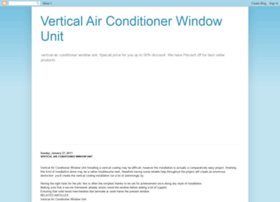 verticalairconditionerwindowunitbrand.blogspot.com