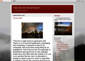 verydumbgovernment.blogspot.com