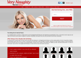 verynaughtymarrieddating.co.uk