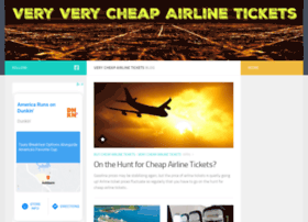 veryverycheapairlinetickets.com