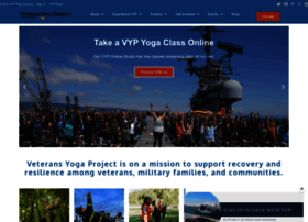 veteransyogaproject.org