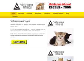 veterinariaamigos.com.mx