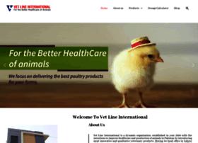 vetlineintl.com