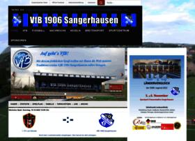 vfb-sangerhausen.de