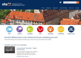 vhs-landsberg.de
