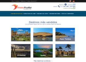 viajespicaflorperu.net