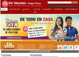 viatelevisionperu.com