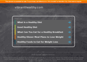 vibranthealthy.com