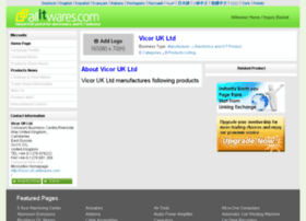 vicor-uk.allitwares.com