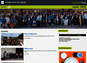 victordelaprade.cybercolleges42.fr