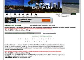 victoria.localitylist.com.au