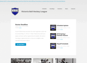 victoriaballhockeyleague.ca