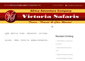 Victoriasafaris.com
