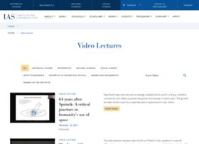 video.ias.edu