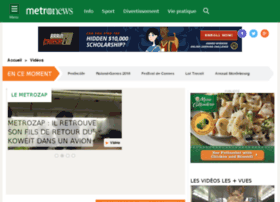 video.metrofrance.com