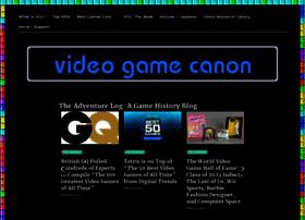 videogamecanon.com