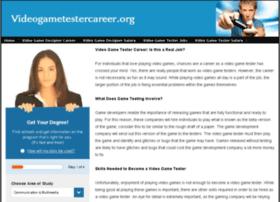 videogametestercareer.org