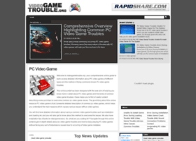videogametrouble.org