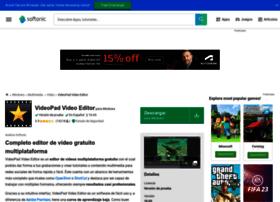 videopad-video-editor.softonic.com