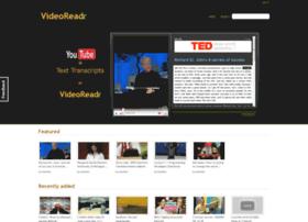 videoreadr.com