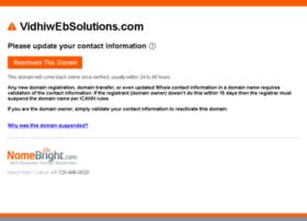 vidhiwebsolutions.com