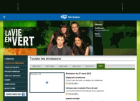 vieenvert.telequebec.tv