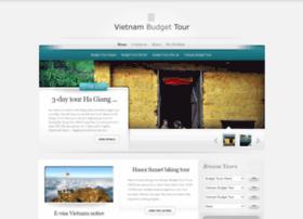 vietnambudgettour.com