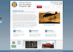 vietnamveteranscardonation.org