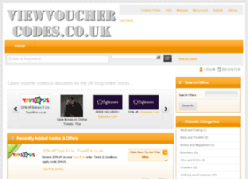 viewvouchercodes.co.uk